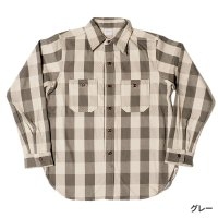 WAREHOUSE & CO. / Lot 3104 FLANNEL SHIRTS A柄 NON WASH