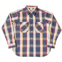 WAREHOUSE & CO. / Lot 3104 FLANNEL SHIRTS D柄 NON WASH
