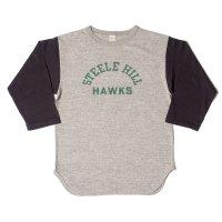 WAREHOUSE & CO. / Lot 4800 7分袖ベースボールT HAWKS