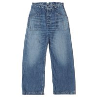 [ご予約商品] WAREHOUSE & CO. / Lot 1206 USN UTILITY DENIM PANTS USED WASH