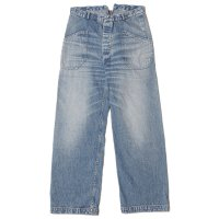 [ご予約商品] WAREHOUSE & CO. / Lot 1206 USN UTILITY DENIM PANTS USED WASH(淡)