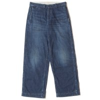 WAREHOUSE & CO. / Lot 1209 USN DENIM TROUSERS(ZIPPER FLY) USED WASH(濃)