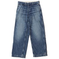 [ご予約商品] WAREHOUSE & CO. / Lot 1209 USN DENIM TROUSERS(ZIPPER FLY) USED WASH