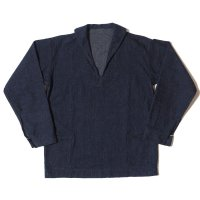 WAREHOUSE & CO. / Lot 2141 USN DENIM PULLOVER JACKET OR