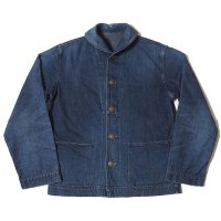 WAREHOUSE & CO. / Lot 2142 USN DENIM DECK JACKET USED WASH(濃)