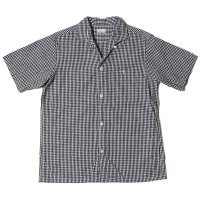 WAREHOUSE & CO. / Lot 3091 S/S OPEN COLLAR SHIRTS ギンガムチェック(小)