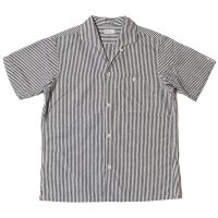 WAREHOUSE & CO. / Lot 3091 S/S OPEN COLLAR SHIRTS ストライプ(細)