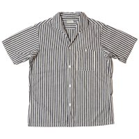 [ご予約商品] WAREHOUSE & CO. / Lot 3091 S/S OPEN COLLAR SHIRTS ストライプ(太)