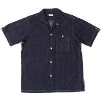 WAREHOUSE & CO. / Lot 3091 S/S OPEN COLLAR SHIRTS ライトオンスデニム