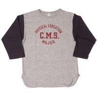 WAREHOUSE & CO. / Lot 4800 7分袖ベースボールT C.M.S.