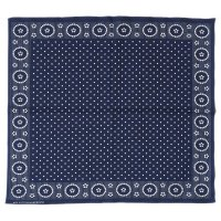WAREHOUSE & CO. / Lot 5227 SELVEDGE INDIGO BANDANA A柄(DOT)