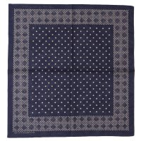 WAREHOUSE & CO. / Lot 5228 SELVEDGE BANDANA A柄(MOSAIC)