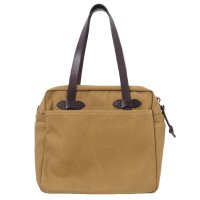 FILSON / TOTE BAG with ZIPPER