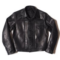 WAREHOUSE & CO. / Lot 2147 1ST TYPE BLACK LEATHER JACKET
