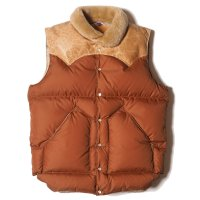 WAREHOUSE & CO. / Lot 2156 ROCKY MOUNTAIN × WAREHOUSE  NYLON CHRISTY VEST