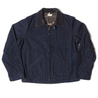 [ご予約商品] WAREHOUSE & CO. / Lot 2149 LINED DENIM ZIP UP JACKET(CORDUROY COLLAR)