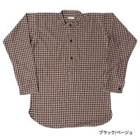 [ご予約商品] WAREHOUSE & CO. / Lot 3033 FLANNEL PULLOVER STAND COLLAR SHIRTS NON WASH