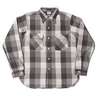 WAREHOUSE & CO. / Lot 3104 FLANNEL SHIRTS C柄 ONE WASH