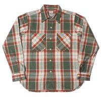 WAREHOUSE & CO. / Lot 3104 FLANNEL SHIRTS E柄 ONE WASH