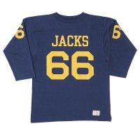 [ご予約商品] WAREHOUSE & CO. / Lot 4063 7分袖フットボールT JACKS
