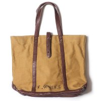 WAREHOUSE & CO. / Lot 5220 LEATHER & CANVAS TOTE BAG プリント