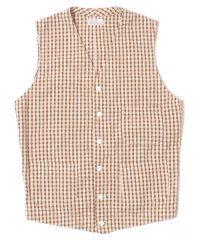 WAREHOUSE / Lot 2069 OLD GINGHAM SUMMER VEST O/W
