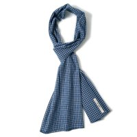 THE HILL-SIDE / LARGE SCARVES DOUBLE WINDOWPANE