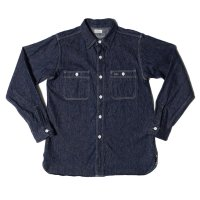 WAREHOUSE / Lot 3076 TRIPLE STITCH WORK SHIRTS インディゴデニム NON WASH