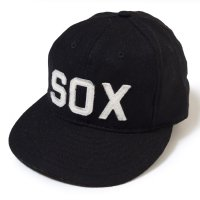 EBBETS FIELD FLANNELS×WAREHOUSE & CO. / VINTAGE BASEBALL CAP BALTIMORE BLACK SOX 1923