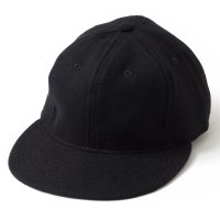 EBBETS FIELD FLANNELS×WAREHOUSE / PLAIN BASEBALL CAP BLACK