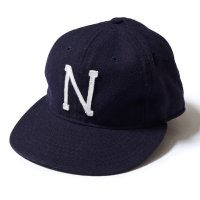 EBBETS FIELD FLANNELS×WAREHOUSE & CO. / KIKUANA BASEBALL CAP 1940's U.S.NAVY MIDSHIPMEN ネイビー