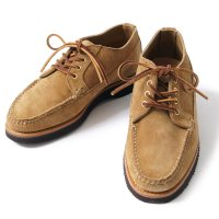 OAK STREET BOOTMAKERS / KHAKI SUEDE VIBRAM SOLE COUNTRY OXFORD