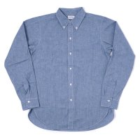 WAREHOUSE / 直営店限定 Lot 3092 L/S CHAMBRAY B.D. SHIRTS