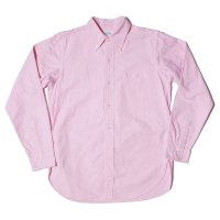 WAREHOUSE / Lot 3099 L/S OXFORD B.D. SHIRTS WITH POCKET スーピマOX
