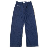WAREHOUSE × U.S.NAVAL ACADEMY / DENIM DECK PANTS DSB