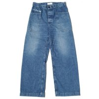 WAREHOUSE × U.S.NAVAL ACADEMY / DENIM DECK PANTS UW