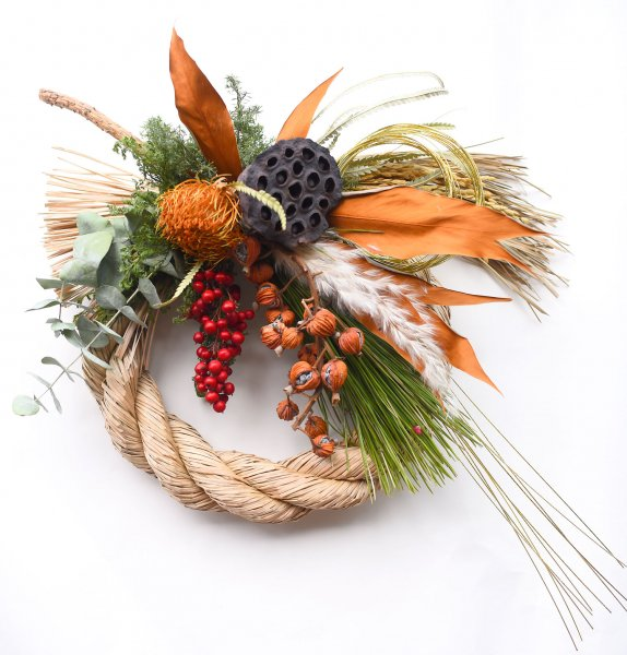 New Year Wreath -greviriasimenawa -