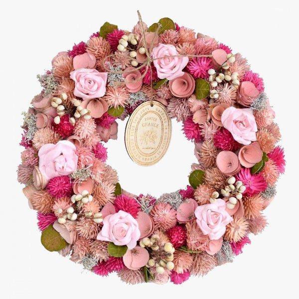 Fiesta rose wreath -フィエスタ・ローズ-