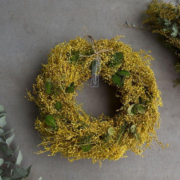 Mimoza Wreath