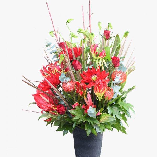 誕生日 プレゼント 結婚記念日 開店祝い 花 オーダーメイド 送別 退職祝い お見舞い フラワーアレンジ 「ソル」 sol