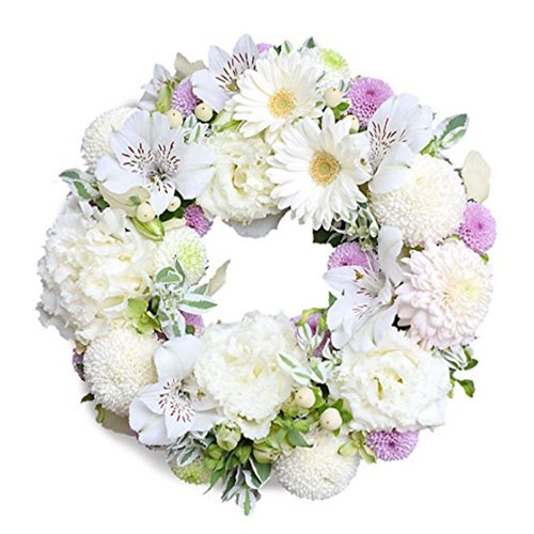 お供え 花 リース「優華」お盆 初盆