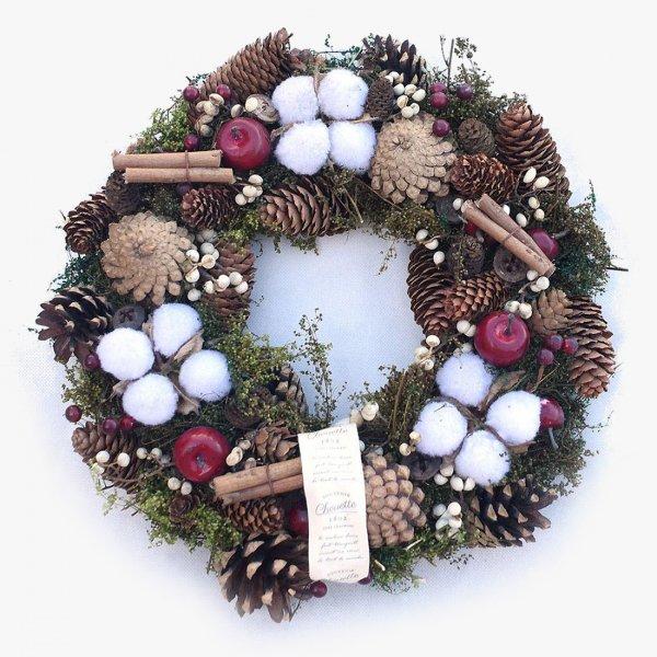 Winter visit wreath -ウィンターヴィジット-