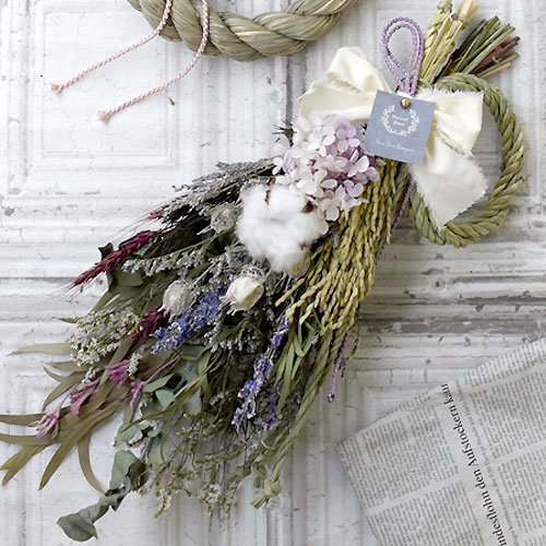 New Year Bouquet -lavender -
