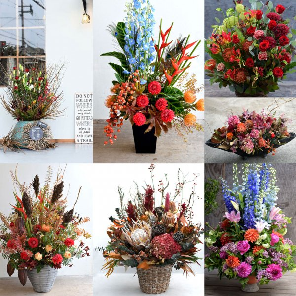 made-to-order -Fresh or Dried flower-