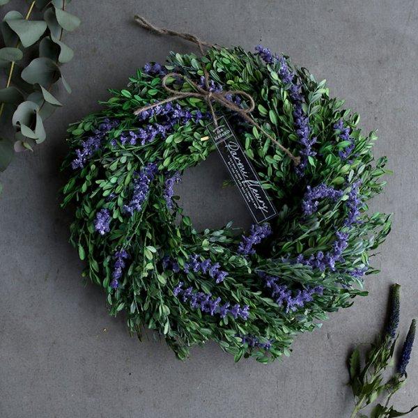 Lavender wreath-ラベンダーリース-