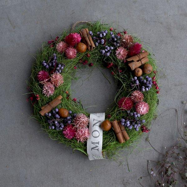 Rond et mignon wreath-ロンエット・ミニオン・リース-