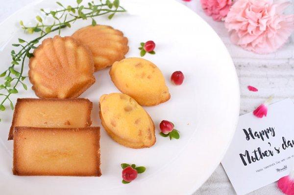 同梱Sweets-ヌベール グルテンフリースイーツ 6個(3種詰合せ)-