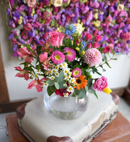 Stay at Home !HAPPY FLOWERS