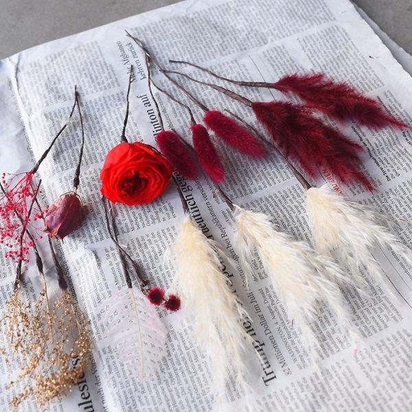 Dried flower head parts -ドライフラワーヘッドパーツ-