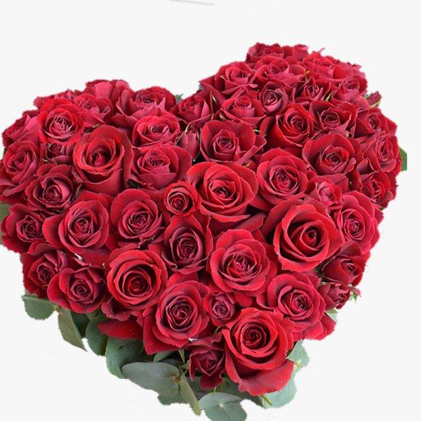 Heart Rose Arrange